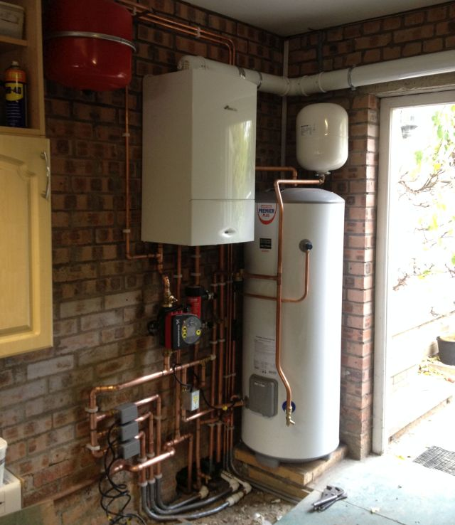 Cental Heating Installation Davidson's Mains